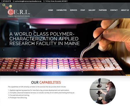 CERL Website Design