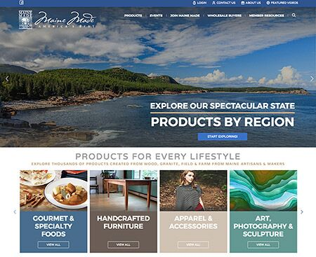 Maine Made Website Design