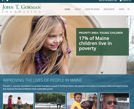 Jogn T Gorman Website Design
